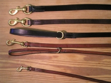 "Best Bridle Leather Leads 3/8"" (9mm) x 42"" (1.05m)"